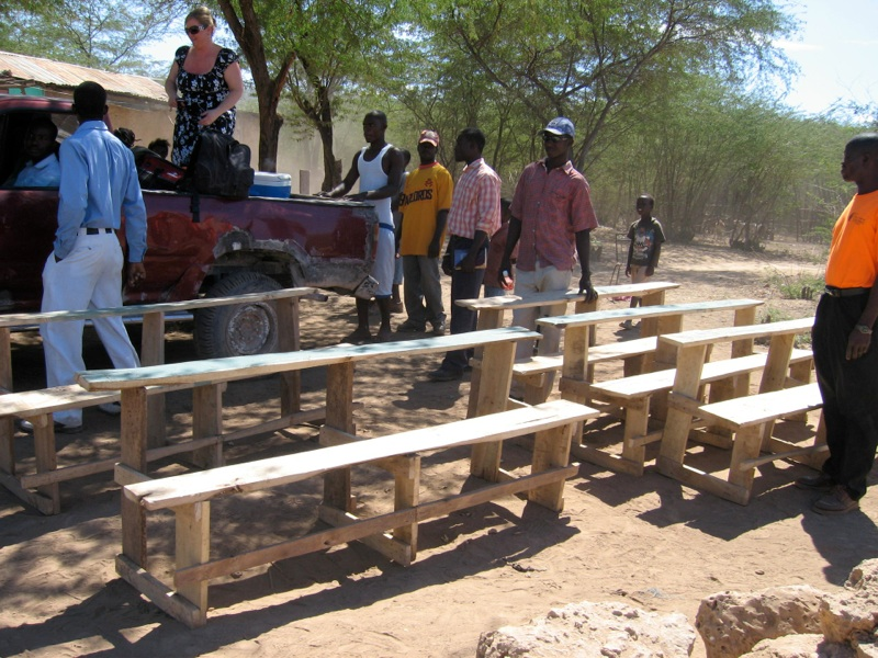 Growing: School Benches Needed