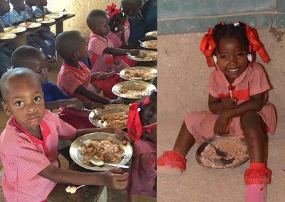 food for children of La Gonave
